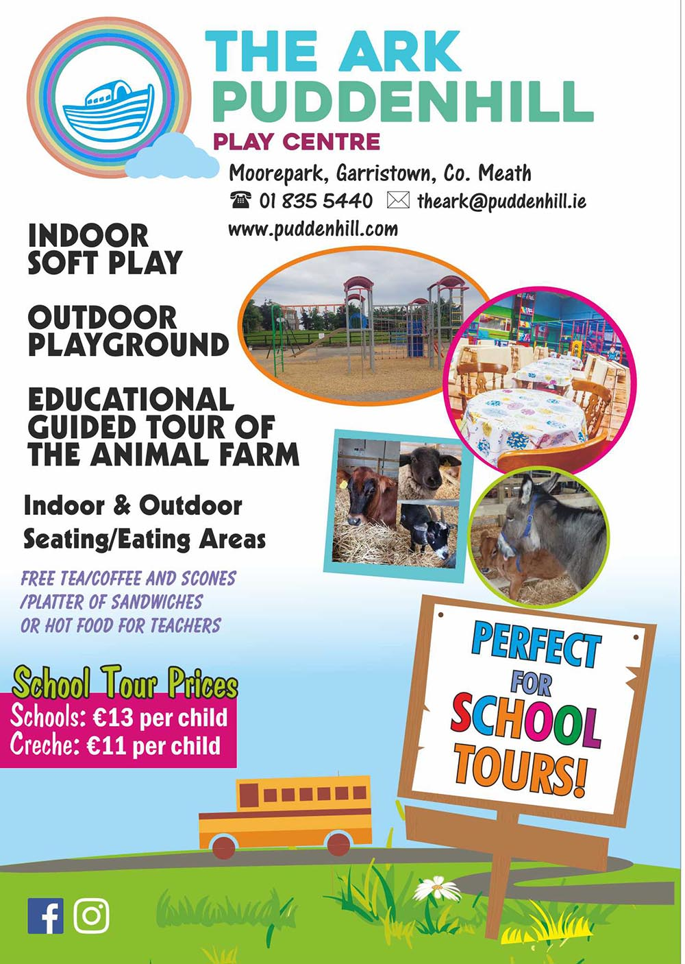 School Tours | Puddenhill | Things to do in Meath | YourDaysOut