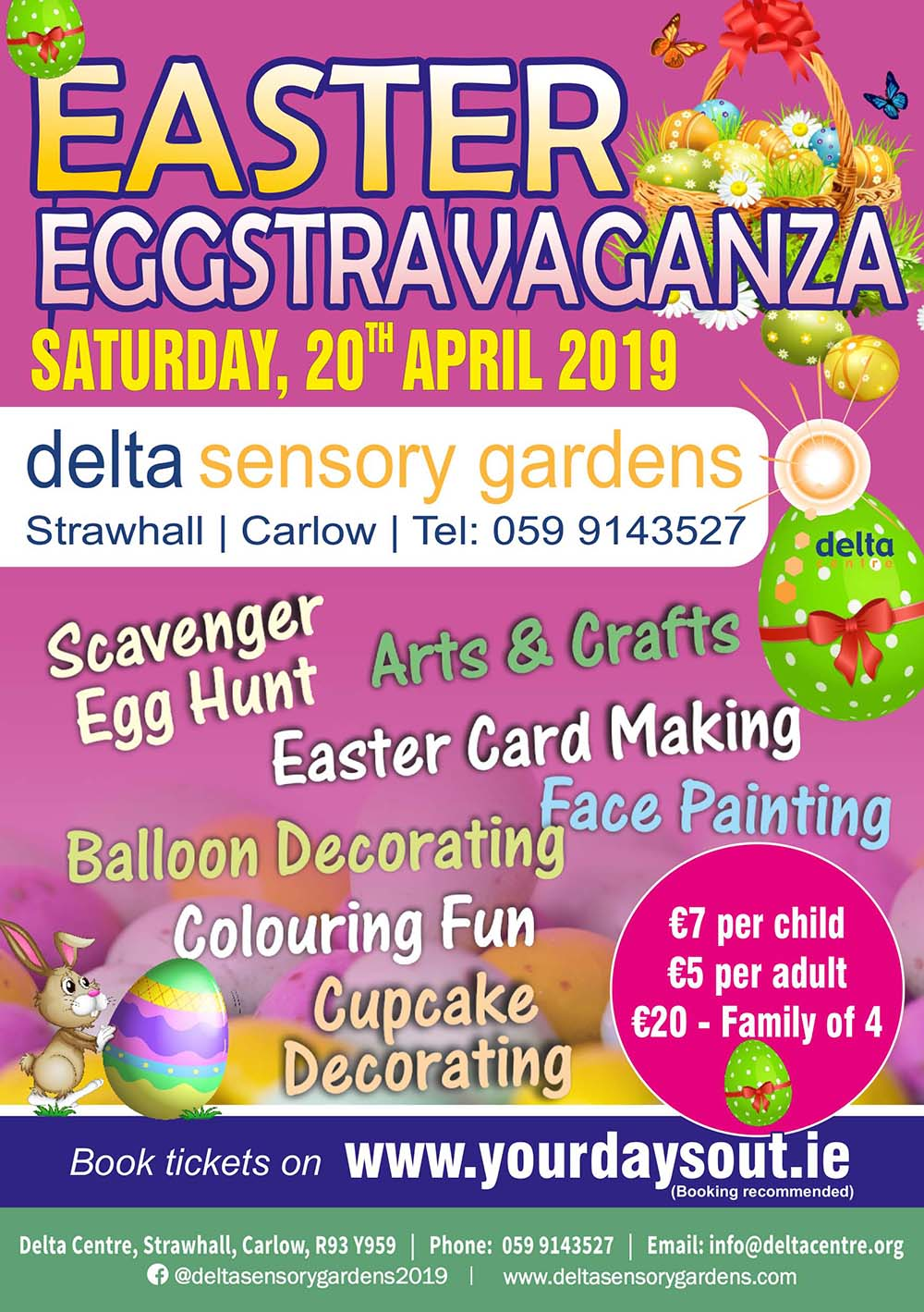 Delta Sensory Gardens | Easter Egg Hunt | Things to do in Carlow | YourDaysOut