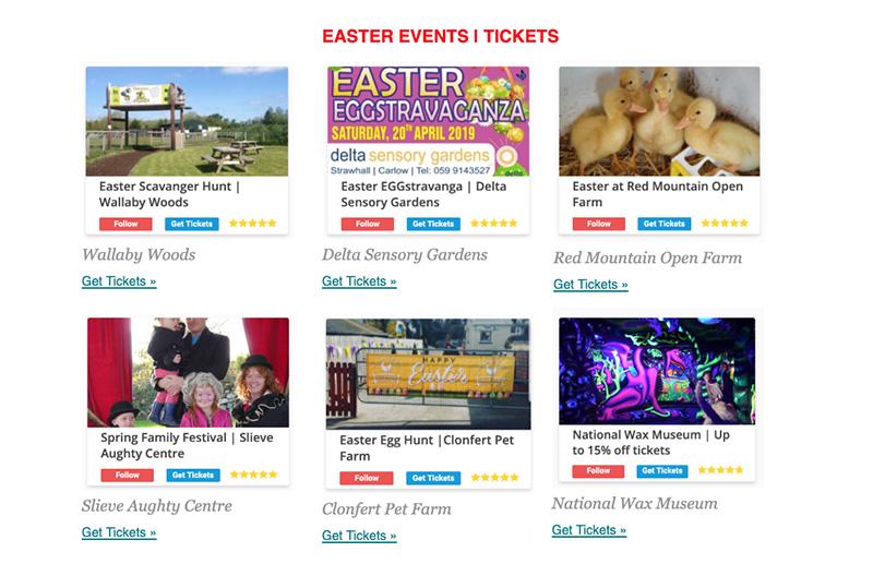 Easter Egg Hunts in Ireland