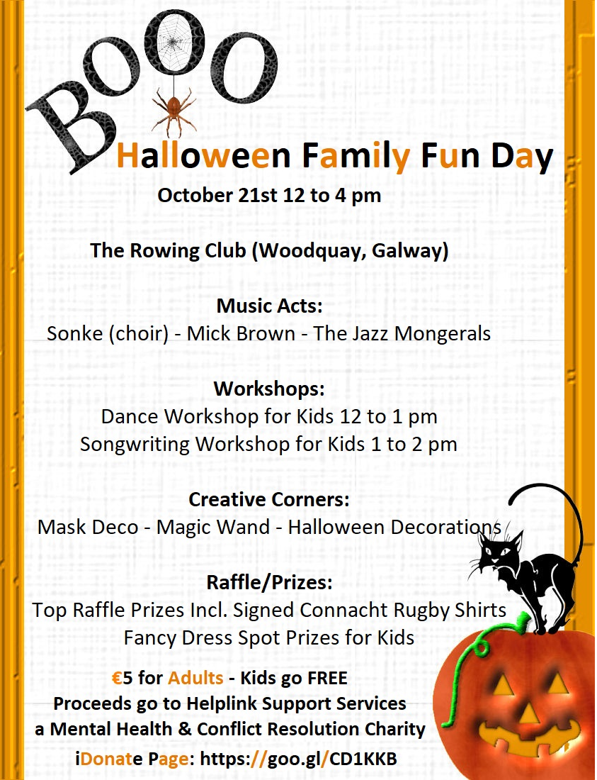 Halloween Family Fun Day | Helplink Support Services
