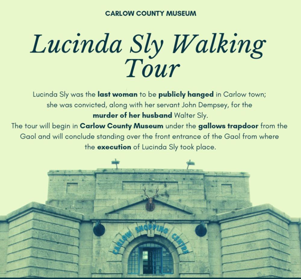 Scarefest Carlow   Lucinda Sly Walking Tour