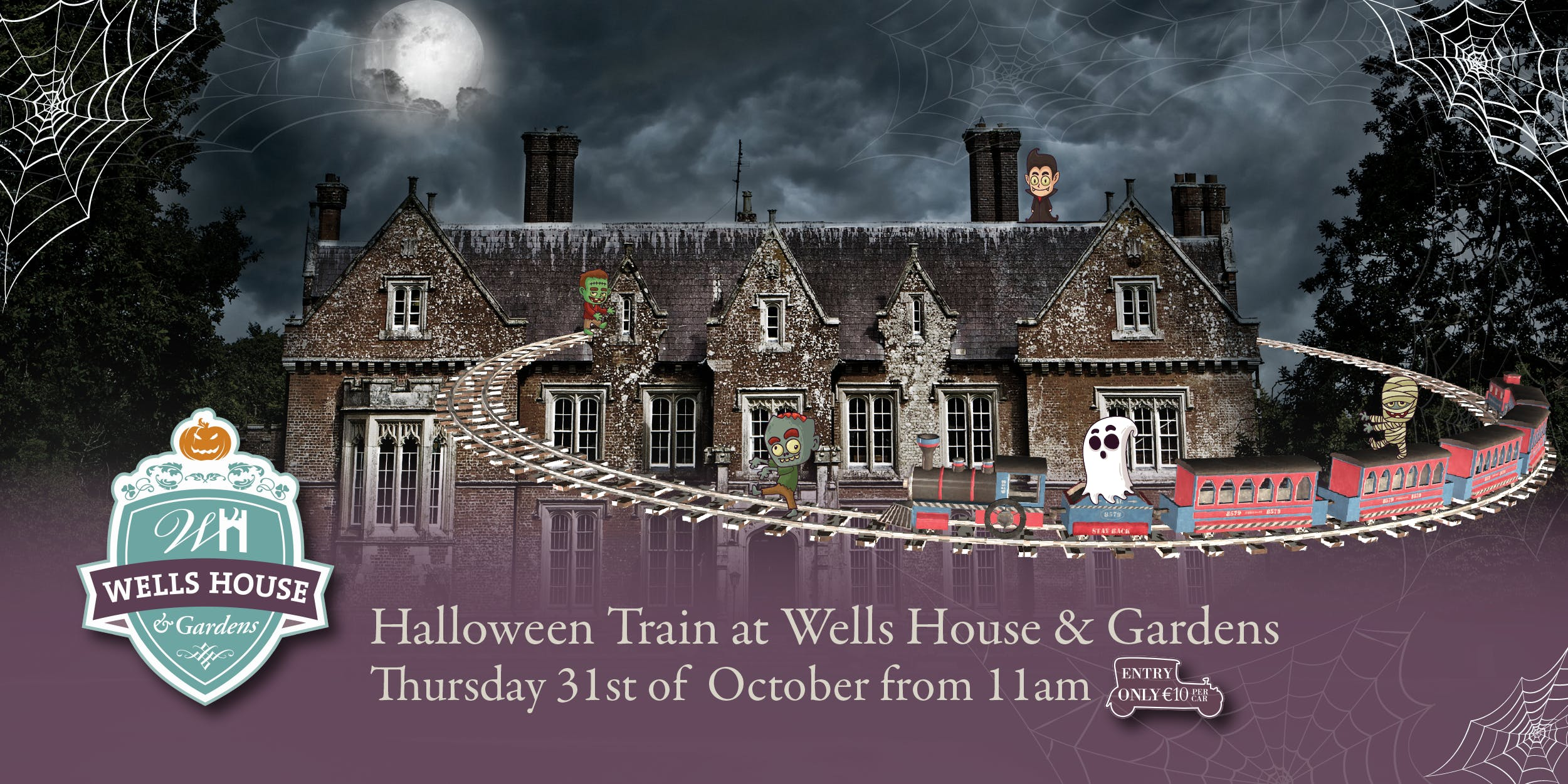 Wells House | Halloween Evens in Ireland | YourDaysOut