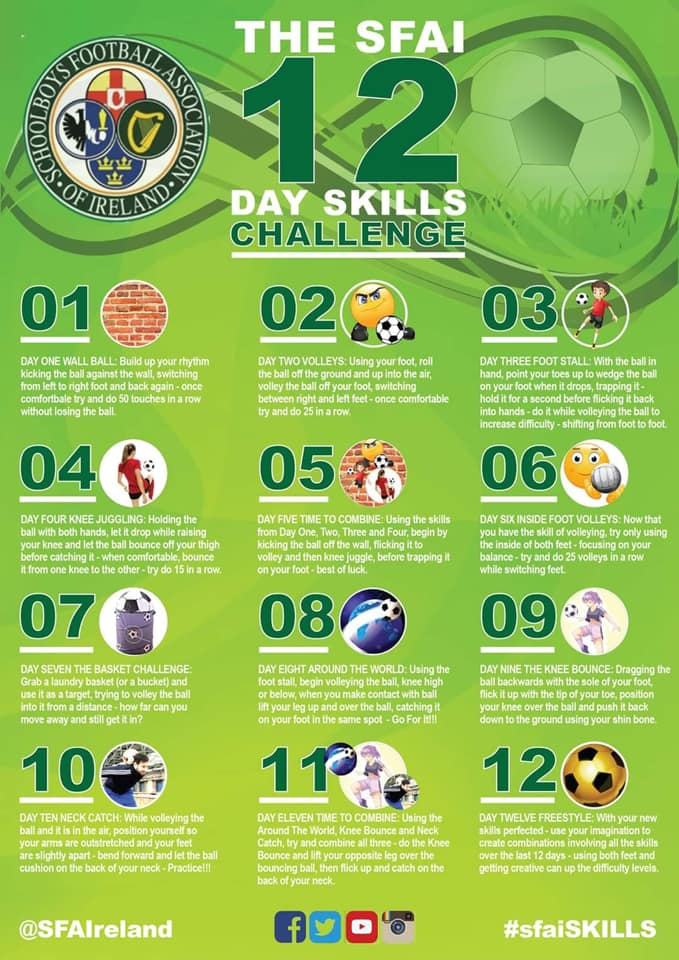 Things to do during CoVid | Soccer Skills Challenge
