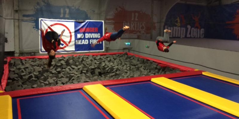 Foam Pit | Jump Zone | Things to do in Dublin | YourDaysOut