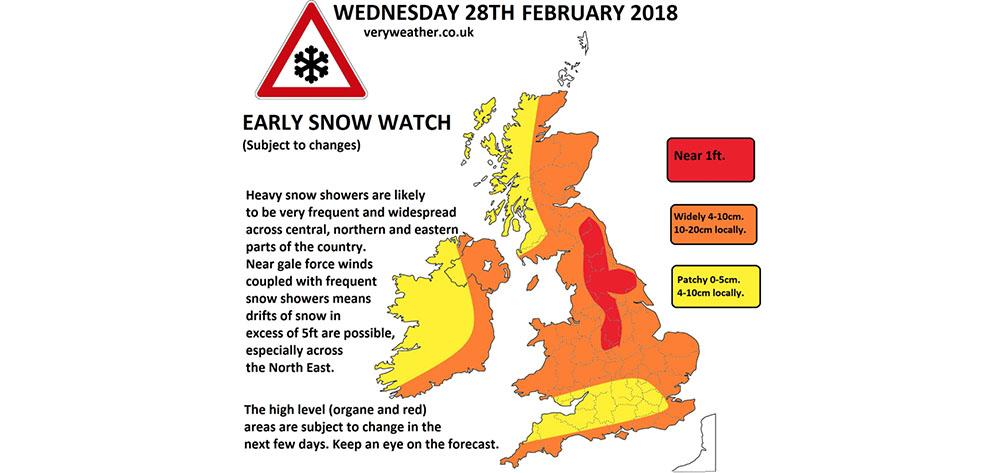 Snow Forecast Ireland | Things to do in Ireland