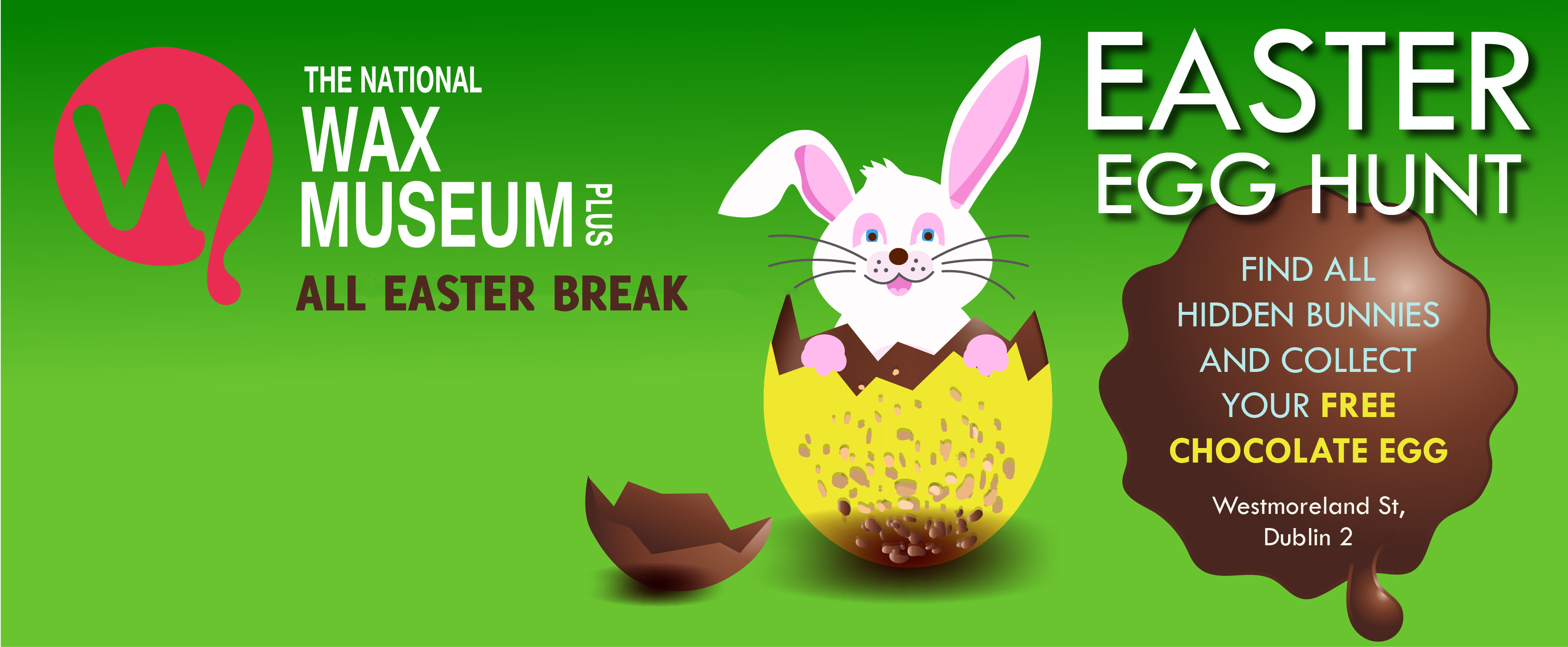 National Wax Museum Easter Egg Hunt | Things to do in Dublin