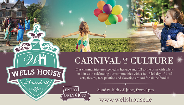 Wells House | Carnival of Culture | Things to do in Wexford