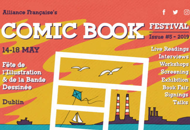 Things to do in County Dublin Dublin, Ireland - Alliance Française Dublin's Comic Book Festival - YourDaysOut