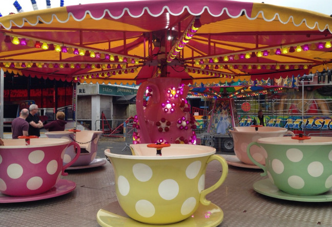 Things to do in County Wicklow, Ireland - The Enchanted Fairy & Elf Festival - Teacups Merry Go Round - YourDaysOut - Photo 1