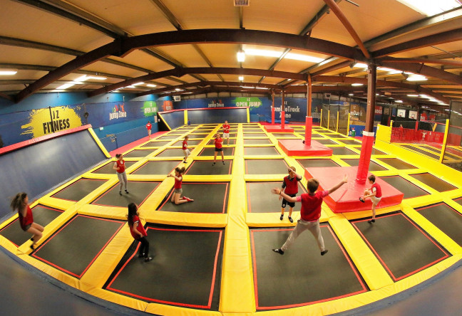 Things to do in County Dublin, Ireland - Jump Zone, Sandyford - Trampoline - YourDaysOut - Photo 1