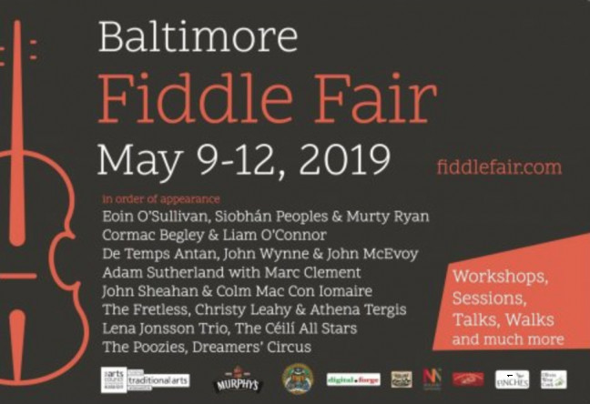 Things to do in County Cork, Ireland - Baltimore Fiddle Fair - YourDaysOut