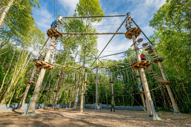 Things to do in County Kilkenny, Ireland - Castlecomer Discovery Park - High Ropes - YourDaysOut - Photo 1