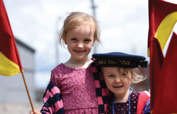 Things to do in Northern Ireland Belfast, United Kingdom - Summer Family Festival at HMS Caroline - YourDaysOut