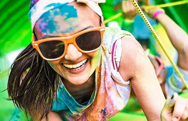 Things to do in County Mayo, Ireland - Mayo Inflatable Colour Run at Westport House - YourDaysOut