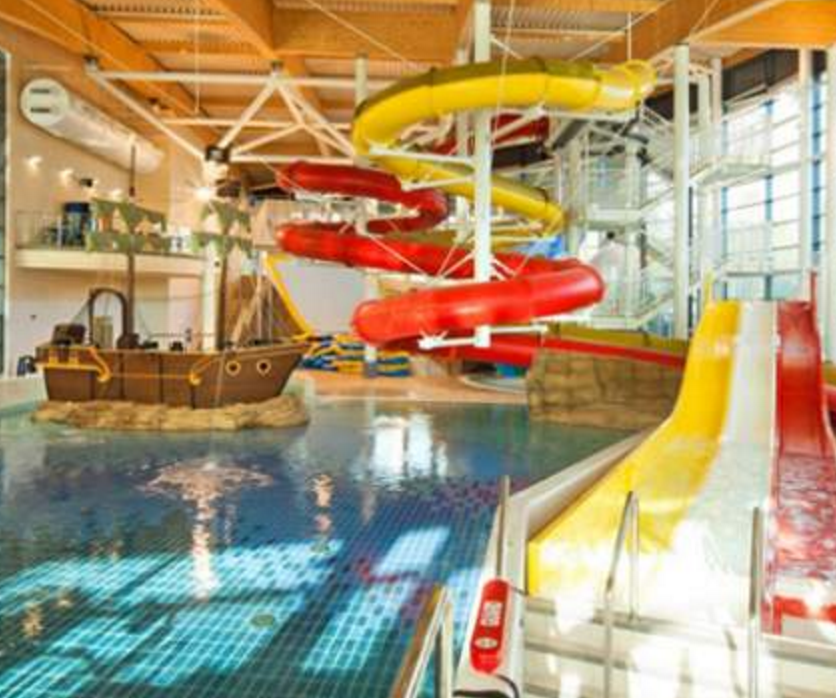 Bangor Aurora Aquatic & Leisure Complex | Things To Do In ... Swimming Pool Designs With Slides