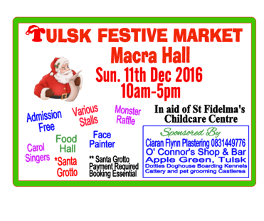 Things to do in County Roscommon, Ireland - Tulsk Festive Market - YourDaysOut