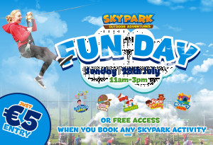 Things to do in County Louth, Ireland - Family Fun Day | SKYPARK - YourDaysOut