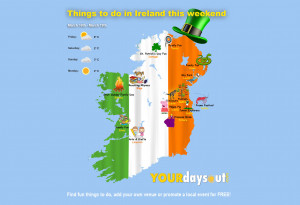 Things to do in ,  - Things to do in Ireland | Mar 16 - 19 - YourDaysOut