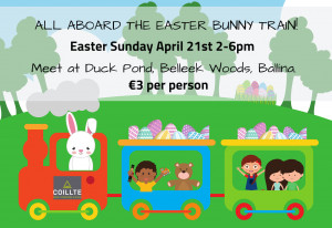 Things to do in County Mayo, Ireland - Easter Bunny Train - YourDaysOut