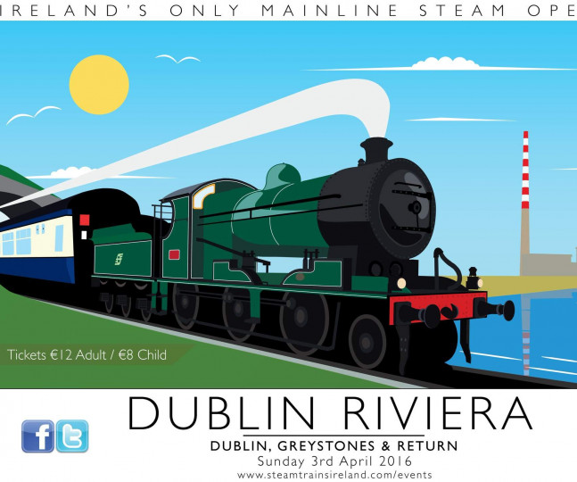 Things to do in County Dublin Dublin, Ireland - Dublin Rivera : Irelands Only Mainline Steam Operator - YourDaysOut