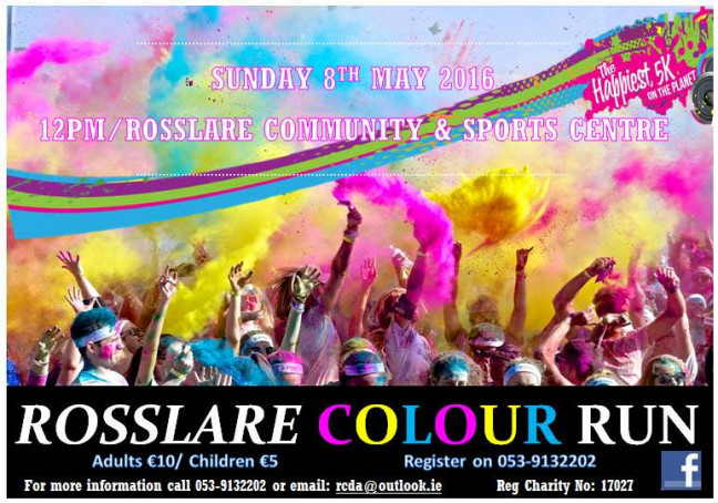 Things to do in County Wexford, Ireland - Rosslare 5k Colour Run - YourDaysOut