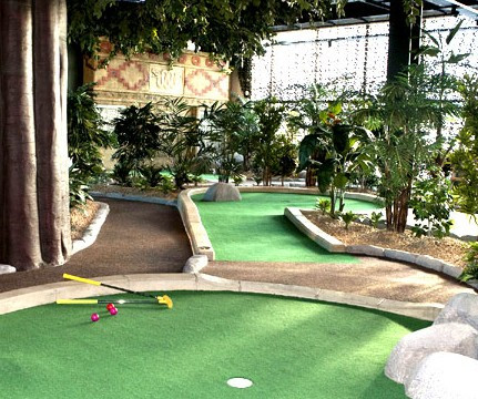 Things to do in County Dublin, Ireland - Rainforest Adventure Golf - YourDaysOut