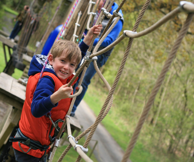 Things to do in England Bedale, United Kingdom - High Ropes Course - YourDaysOut