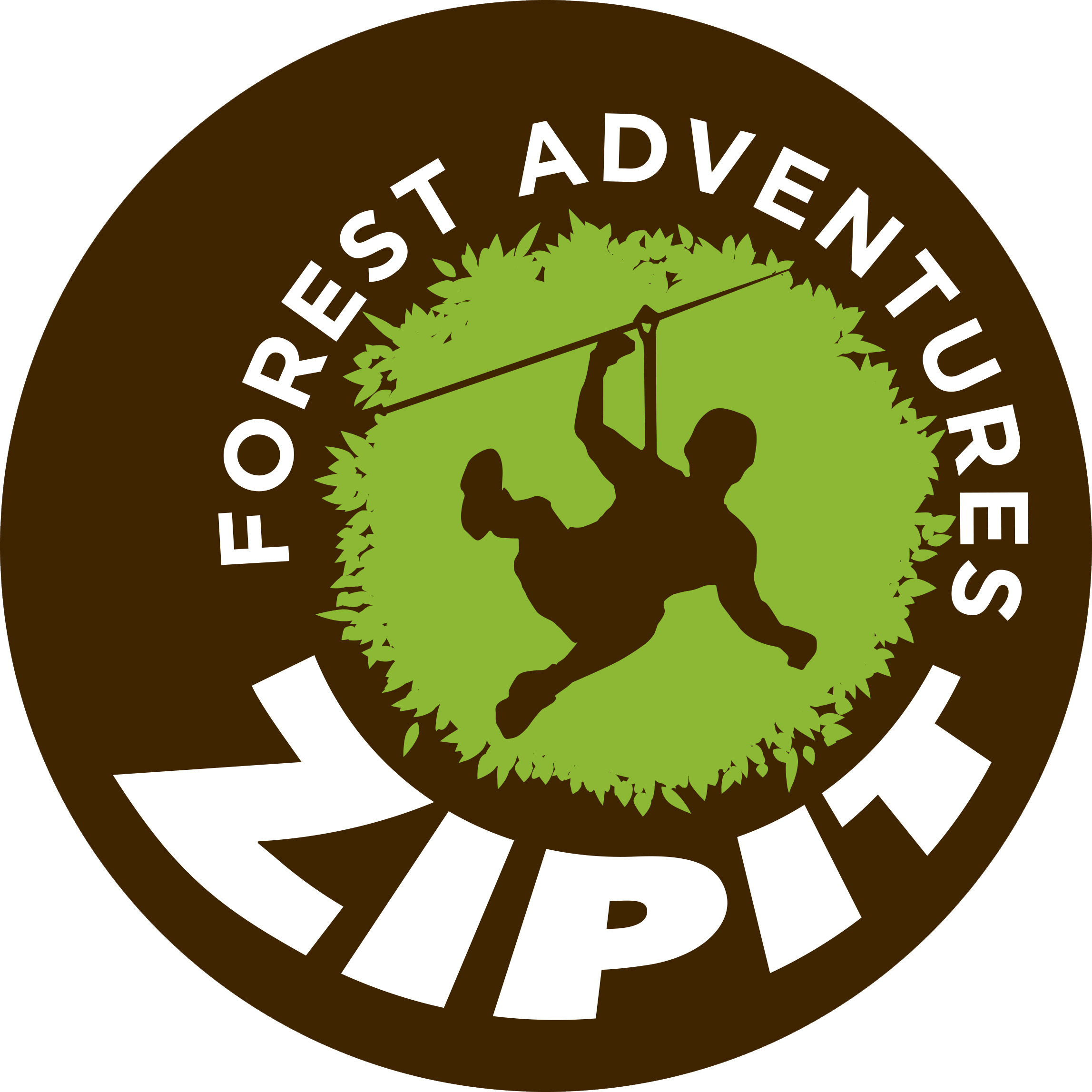 Zipit Forest Adventures, Roscommon logo