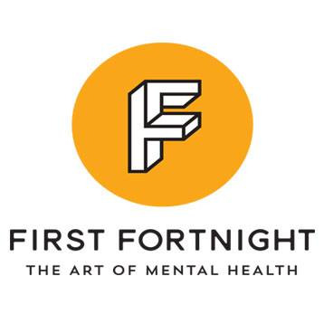 First Fortnight Mental Health Arts Festival logo